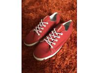Men's Red Surpa Shoes / Trainers Size 11
