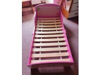 Toddler girls bed