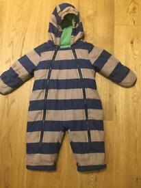 Snowsuit -Boden 6-12 months