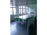 Enclosed office room space in the City, approx 425sqft in shared office