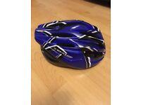 Dunlop Sport Bicycle Skateboard Roller Skate Helmet 56-60cm & Gloves NEW WITHOUT TAGS