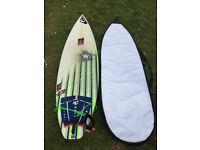 Nigel Semmens F16 Model 6'6 Surfboard (Shortboard) for sale