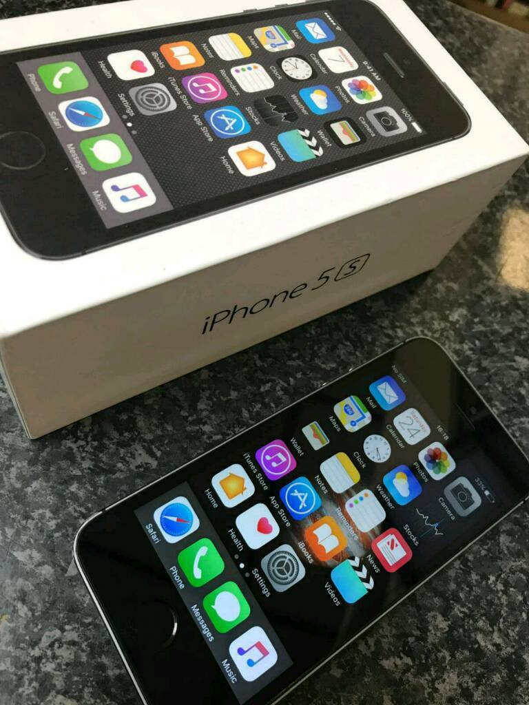 Iphone 5s slate grey 16GB boxedin Accrington, LancashireGumtree - Iphone 5s 16gb slate great overall good condition. Comes boxed. Used on O2 and Giffgaff may be unlocked. Delivery or pick up