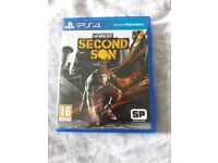 Infamous second son, ps4 game