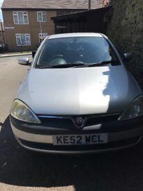 Automatic,Vauxhall corsa eco in good condition, cheap to run and insure, first to see will buy