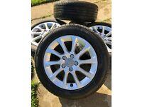 """18""""Genuine Audi A3 alloys &tyres"""