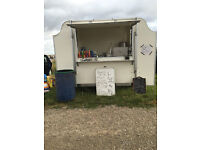 CATERING TRAILER USD FOR SELLING DONUTS DRINKS SOUP ECT MAKE BDS REGULAR SUNDAY PITCH
