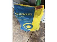1 x Mastercrete Cement 25kg