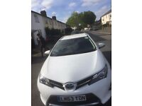 PCO rent/hire TOYOTA AURIS HYBRID 2014 140pw