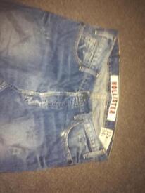 Men's Hollister jeans 32w 34l