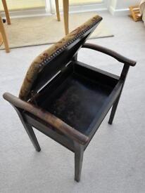 Antique music stool
