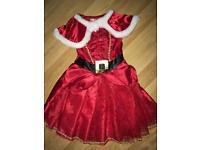 Santa dress 3-4 years