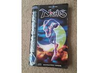 Sega Saturn Nights Into Dreams game manual only