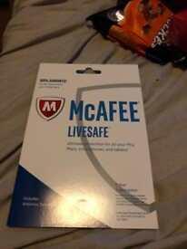 McAFFE livesafe