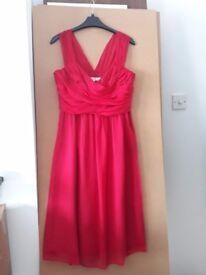 LK Bennett - Beautiful 100% silk cocktail/party dress