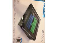 "Alesis IO DOCK II - For home recording with ipad - ""The highly popular iPad interface"""