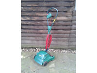 Qualcast Mow 'n' Trim Electric Rotary lightweight Lawnmower FREE LOCAL DELIVERY