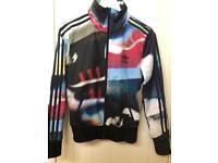 Ladies Adidas 3 Stripe Zipper