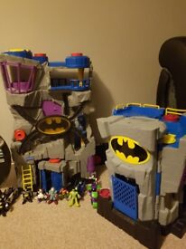 Imaginex batman cave ideal xmas box all clean and ready to collect