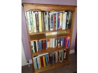 almost new book case 31 inches wide by 47 inches tall 4 shelves