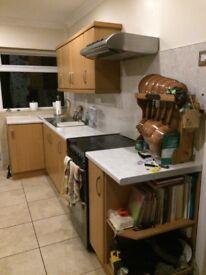 Kitchen Cupboards Gas Cooker etc