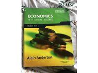 Edexcel A-Level Economics books