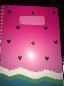 Smiggle scented notebook