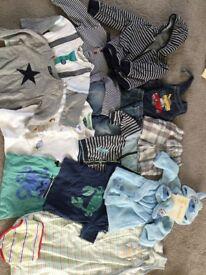 Baby boy clothes bundle 9-12 month