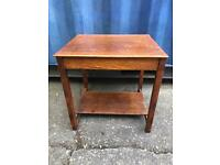 2 tier oak table FREE DELIVERY PLYMOUTH AREA