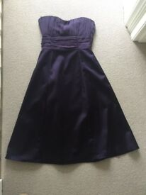 A stunning purple party dress from Coast- size 10