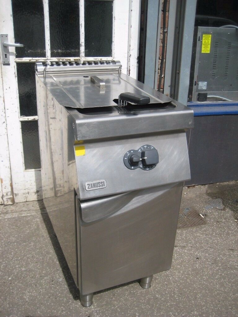 Catering fryer gas lpg (propane) ZANUSSI 9PDX 178114 refurbished.