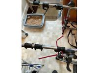 Halfords Bike carrier (3 bikes) - good condition