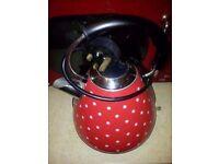 Red pyramid kettles £10 each