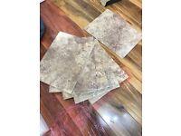 Stone effect tiles (5 pieces)