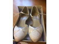 Rainbow size 6 bridal shoes