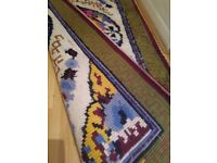 Hand made rug large