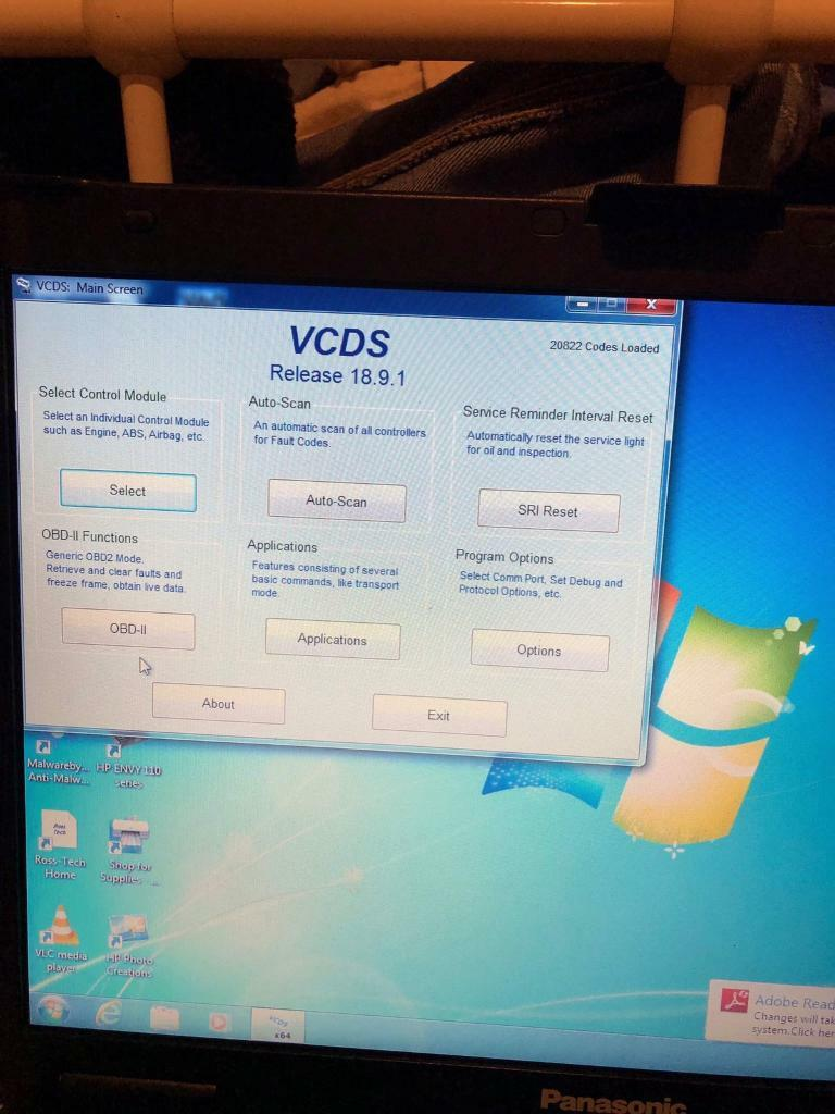 VAG com/ VCDS car diagnostics laptop | in Houghton Le Spring, Tyne and Wear  | Gumtree