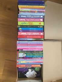 41 girls' books, immaculate - some unread. Age 7-12