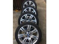 BMW GENUINE M SPORT STAGGERED ALLOY WHEELS 3 SERIES