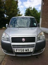 2008, Fiat Doblo 1.3 Dynamic Multijet, 5 seats/doors, diesel , MPV – family / small van