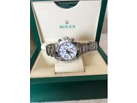 Rolex Daytona 40mm Swiss 7750 luxury automatic chronograph Watch new in Swiss wave box N 00 B