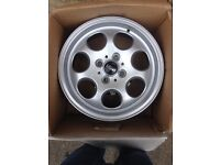 """Mini alloy wheels 15"""" immaculate condition"""