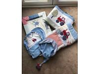 Busy Tractor Nursery Bedding Bundle