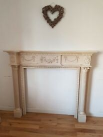 Excellent decorative fireplace for sale