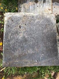 Patio slabs - black slate - various sizes - FOR COLLECTION ONLY