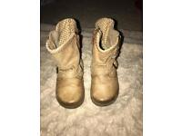 Gorgeous tan boots by Next Infant Size 3