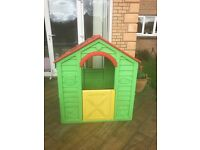 Kids Playhouse , can be indoors or outdoors, needs a wash & collected