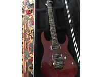 Ibanez RG series Guitar + flight case