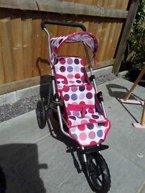 Mamas & Papas Toy Double Decker pushchair