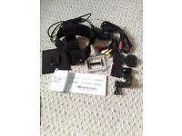 GoPro accessories unused - headstrap, cables, mounts etc